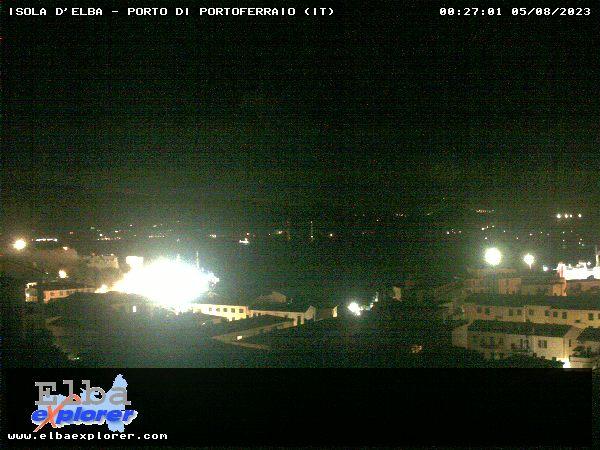 Blick �ber Portoferraio Richtung Hafen - San Giovanni - Monte Orello